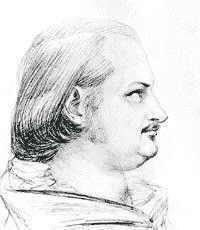 Honoré de Balzac en 1849 par David d'Angers