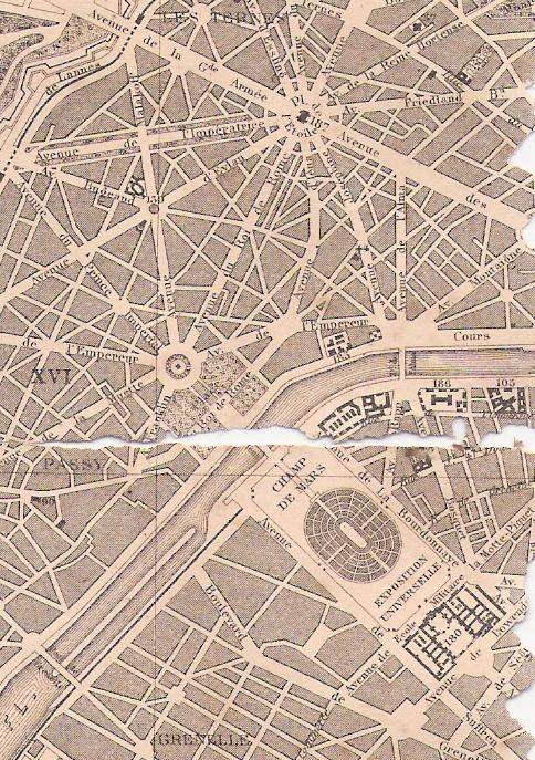 Plan de l'Exposition universelle de 1867
