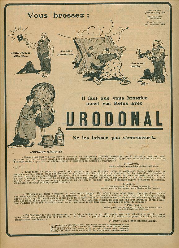Journal les Annales du 11 juin 1916 cahier publicité