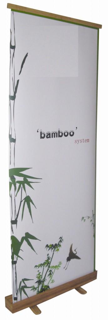 Rollup ou dérouleur en bambou
