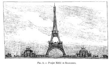 Autre projet pour l'exposition universelle de 1889