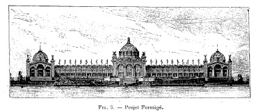 Autre projet pour l'exposition universelle de Paris 1889