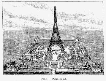 Projet exposition universelle de 1889 à Paris