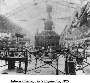Exposition Edison 1889