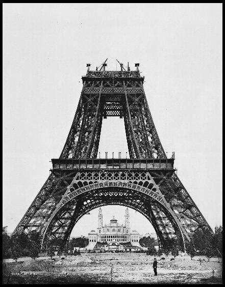 Construction de la tour Eiffel