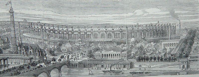 Exposition universelle côté seine 1867