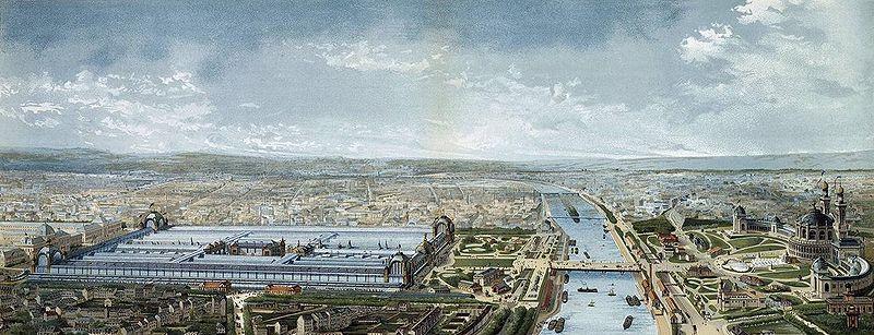Panorama de l' exposition universelle de 1878