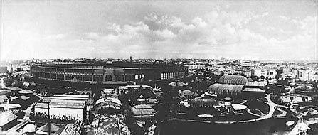 Panoramique de l'exposition universelle de 1867