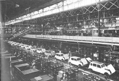 le travail la cha ne dans les ann es soixante usine automobile. Black Bedroom Furniture Sets. Home Design Ideas