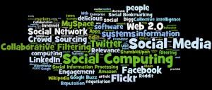 social media, social networking, social computing tag cloud (#2) - réseaux sociaux