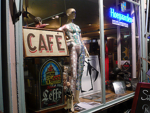 vitrines magasin