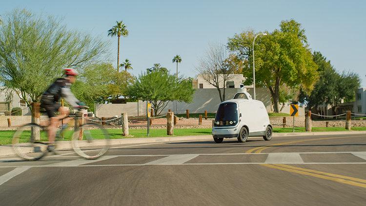 Les véhicules sans chauffeurs de Nuro